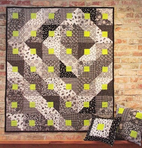 quilt patterns for beginners | Quilt Pattern Paradigm Shift Beginner Quilting Pattern from Magazine ...