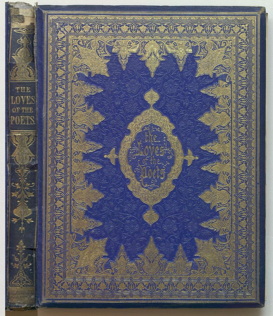 The Loves Of The Poets Or Portraits Of Ideal Beauty Ideal Beauty Antique Books Book Cover Design