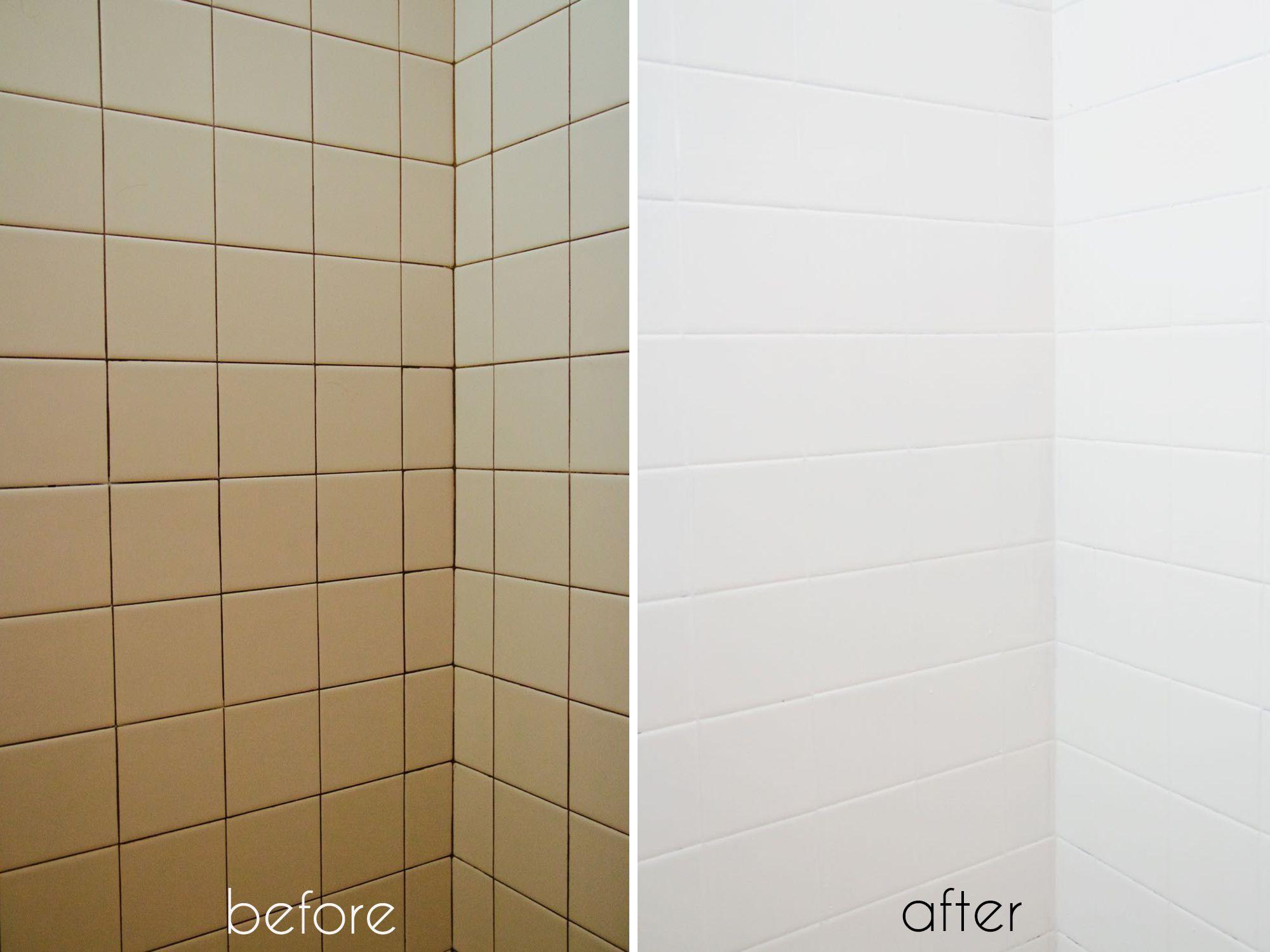 painting bathroom tiles bathtub tile