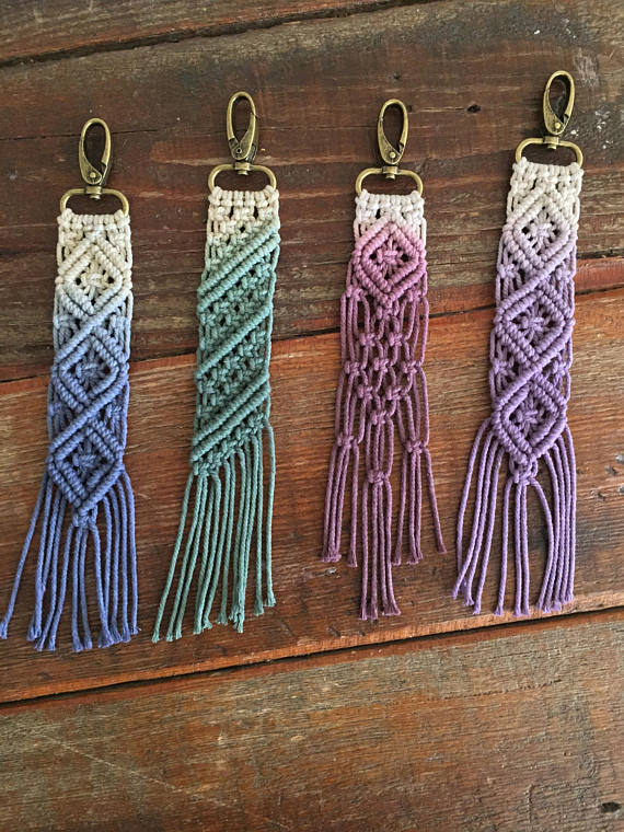 "Photo of Macrame keychains/bag accessory ""Roadies"""