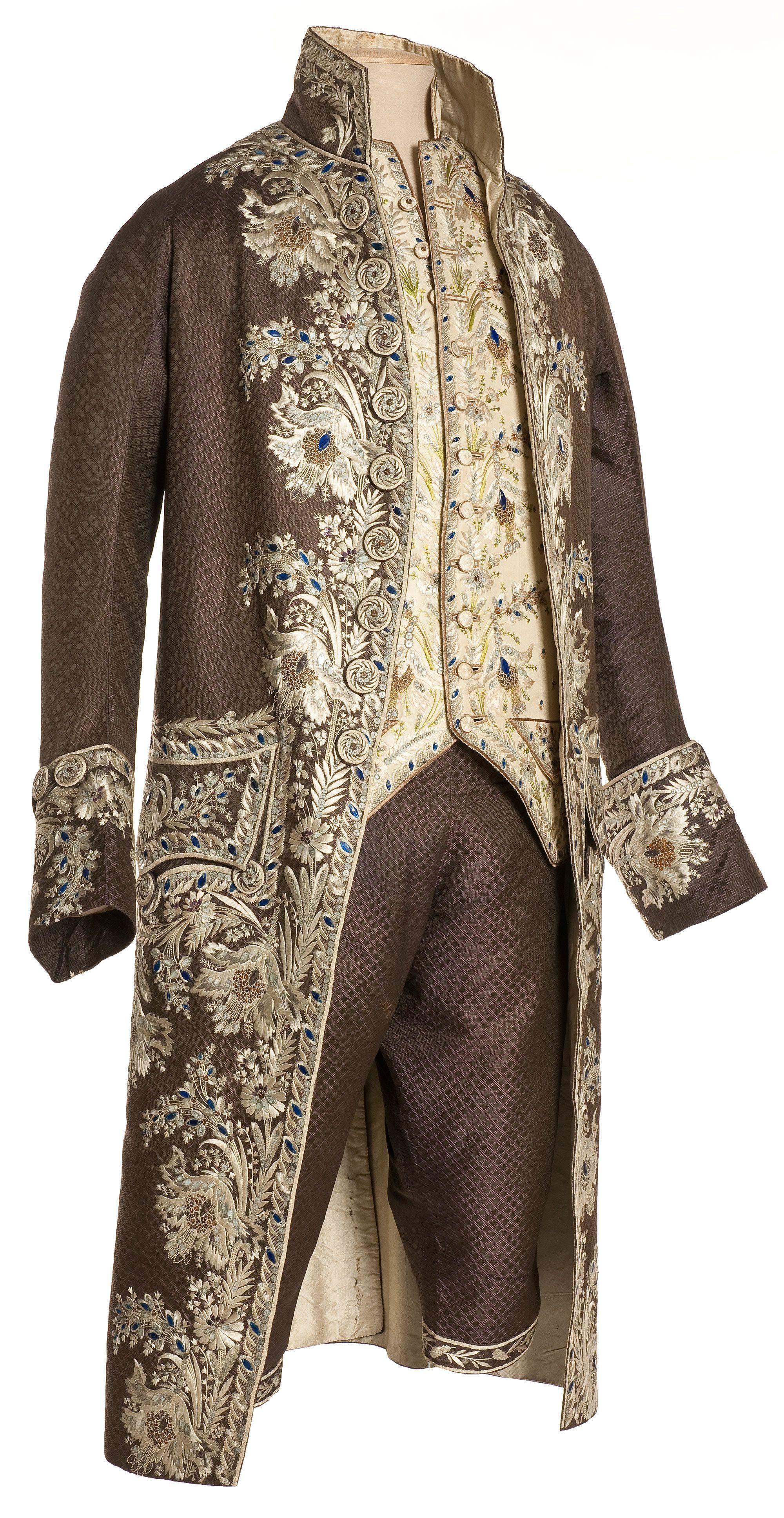 Habit  la fran§aise habit gilet et culotte France vers 1785