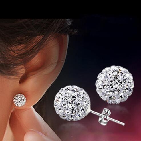 Vintage Edlen Schmuck-legierung Mit Imitieren Kristall & CZ Perlen Grün Rot Blau Farbe Lange Ohrringe Für Frauen E10