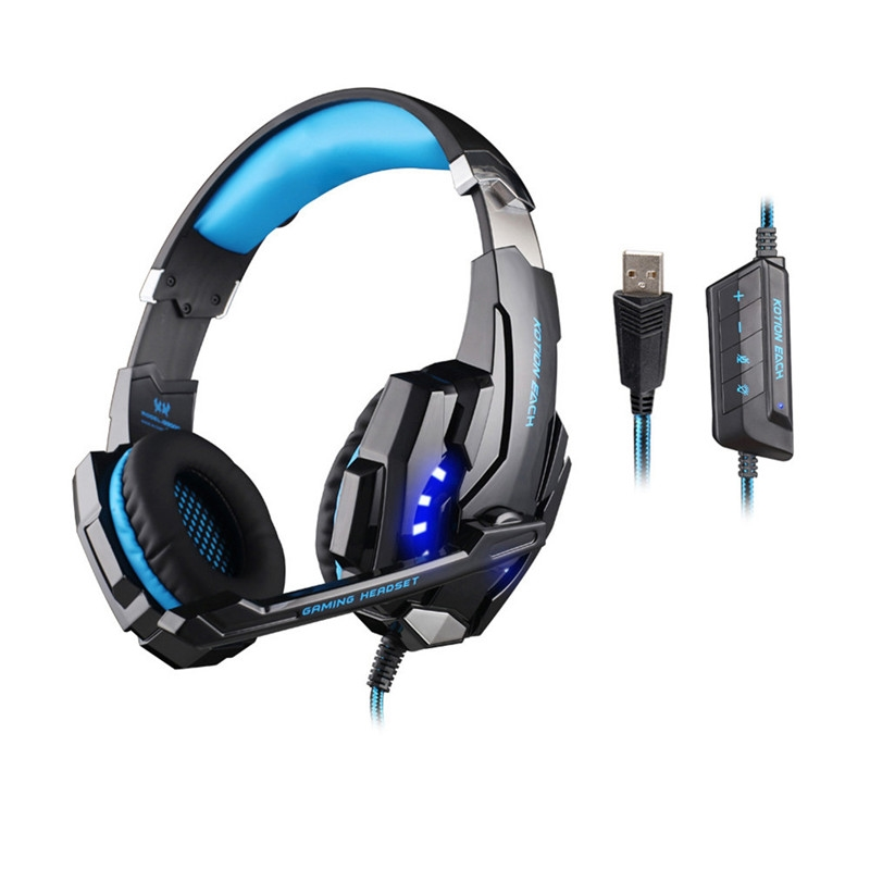 23.71$  Watch here - http://alif9e.shopchina.info/go.php?t=32756942011 - KOTION EACH G9000 Gaming Headphone with Microphone 7.1 Surround Stereo USB Headset Rotatable Earphones Mic LED Luminous   #magazine