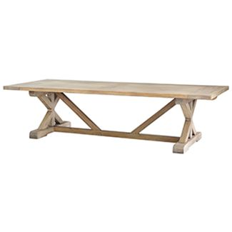X Base Dining Table 10 Feet Order At Cottage By The Sea · Furniture  OnlineCustom ...