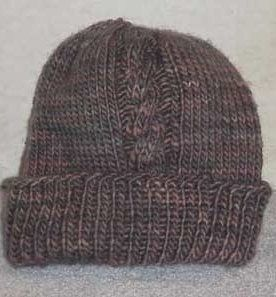 Two Cable Bulky Hat Knitting Pattern | AllFreeKnitting.com