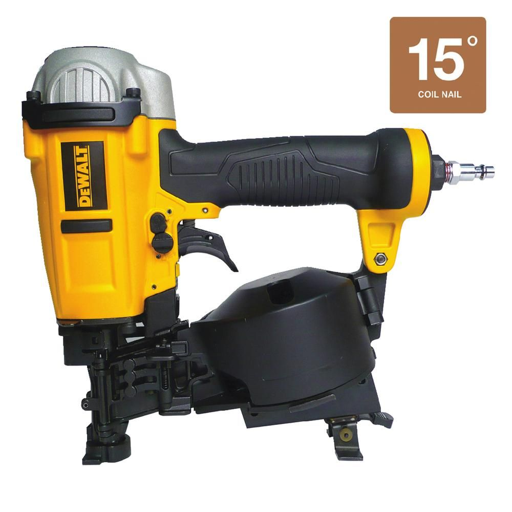 15 Degree Coil Roofing Nailer Roofing nailer, Dewalt, Nailer