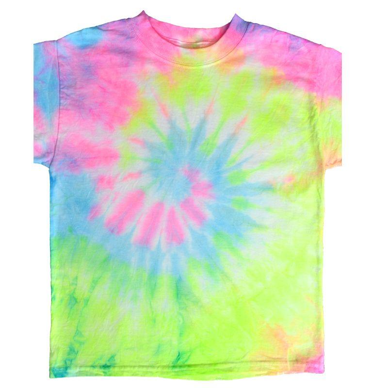 70e4550389e29 SEI Neon Spiral Tie Dye Tee #neon #tiedye | Color - COLORS OF EVERY ...