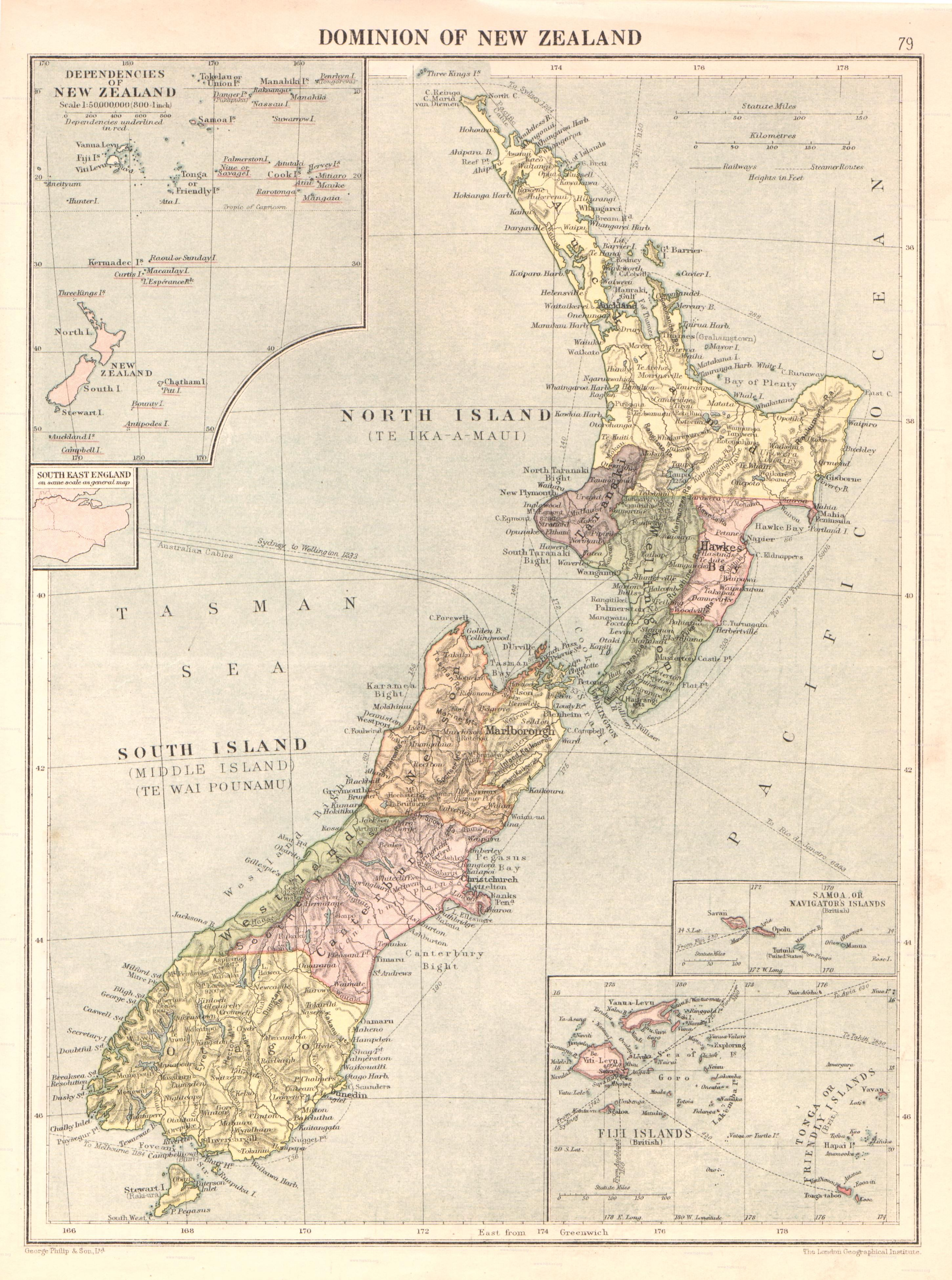 new zealand old school map | New Zealand | Map of new zealand, Map ...