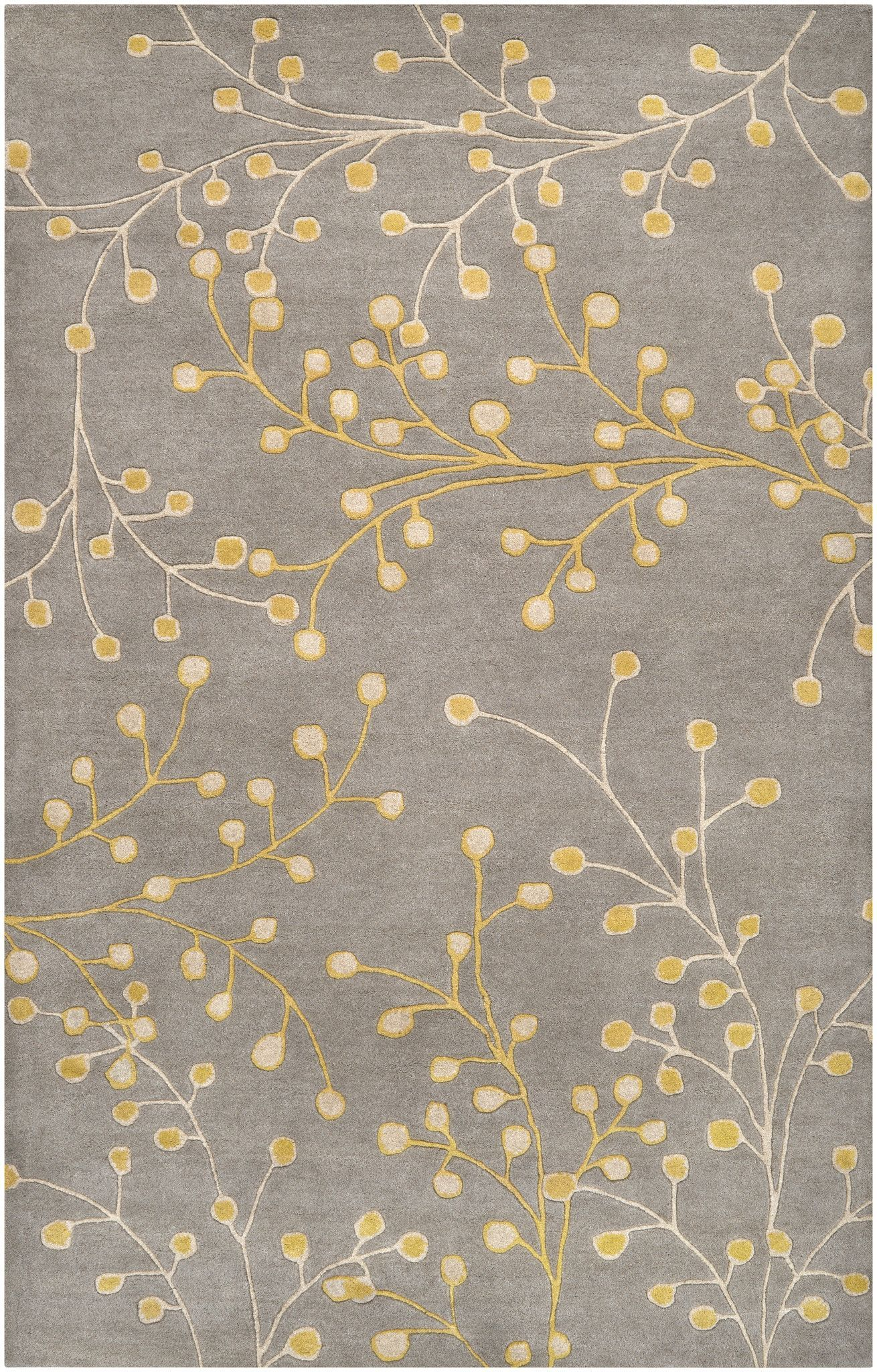 Athena Floral And Paisley Area Rug Gray Floral Area Rugs Wool
