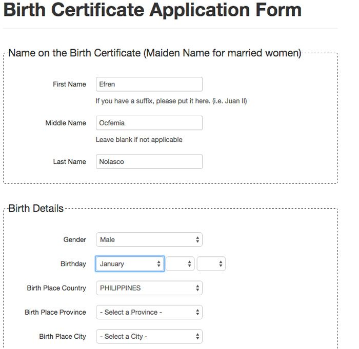 How to get NSO Certificate Online - Birth, Marriage, Death or - copy california long form birth certificate