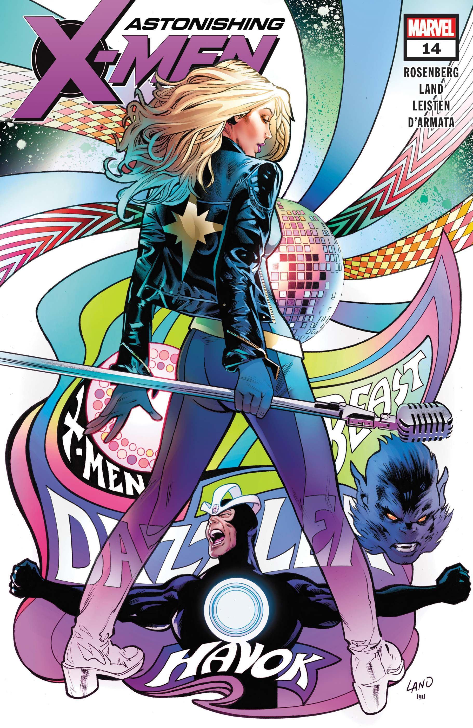 Astonishing X Men 2017 14 Welcome Back To The X Men Stage The Incomparable The Amazing The Uncanny Dazzler Marvel Comics Art Dazzler Marvel Comic Books