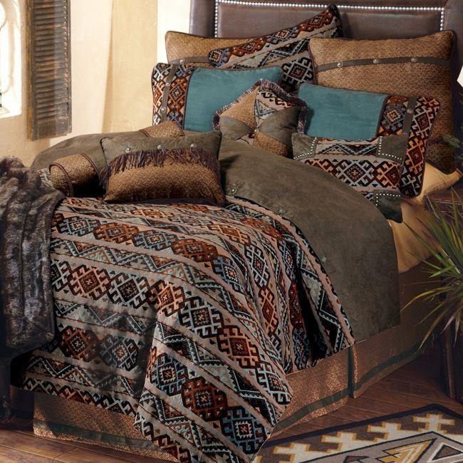 Rio Grande Bed Set - King Mountain Retreat bedding Pinterest