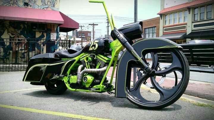 Backyard baggers   Bagger motorcycle, Custom bikes, Harley ...