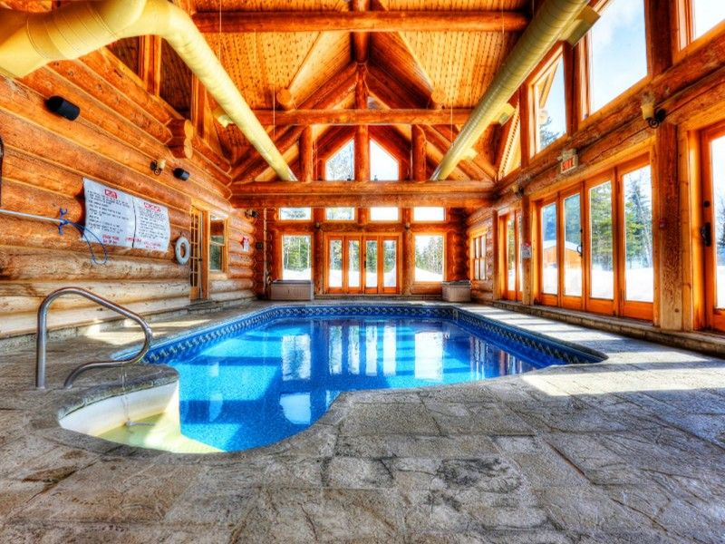 Our Luxury Log Home Chalet Located At Fiddler Lake Resort, In The  St Sauveur / Morin Heights Surroundings, In The Heart Of The Laurentian  Region Anu2026
