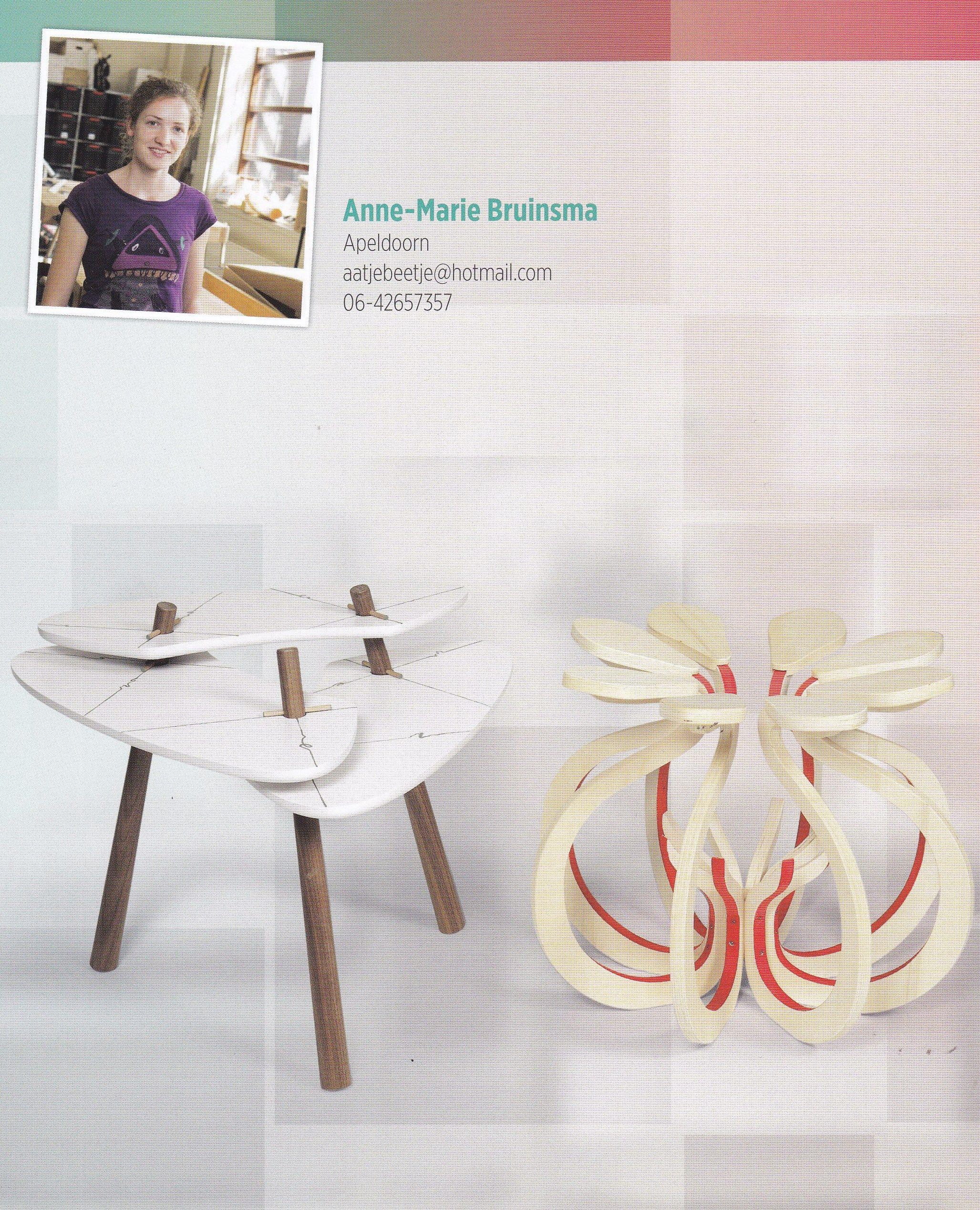 Profiel en werk van Anne-Marie Bruinsma   Hout & Meubel & Interieur ...