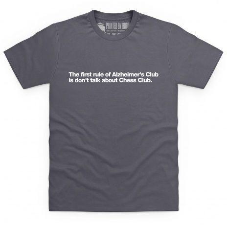 Alzheimer's Club T Shirt