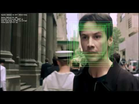 OpenCL face detection - YouTube