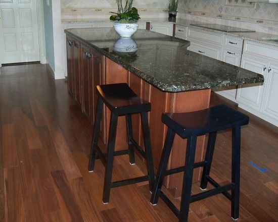 An Oddly Shaped Kitchen Island: Odd Shaped Island To Incorporate Stools