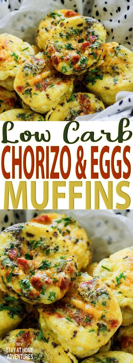 Learn how to create chorizo and eggs muffins that are full of flavor and yes, low carb friendly. This egg and chorizo recipe is also freezable to eat later! #lowcarb #eggs #breakfast #yummy #recipe