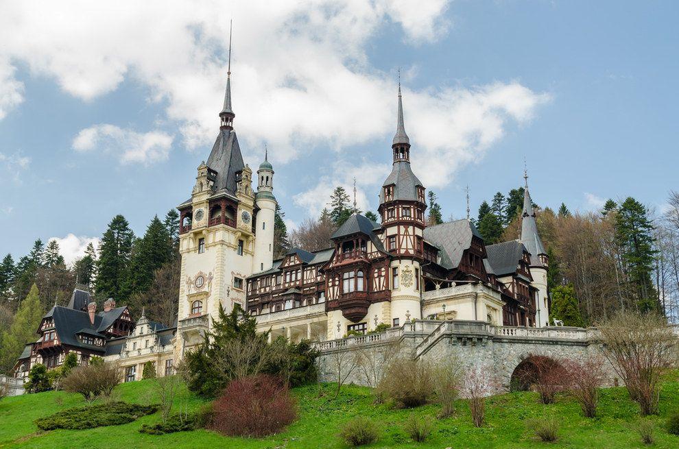 El Castillo Peles en Rumania