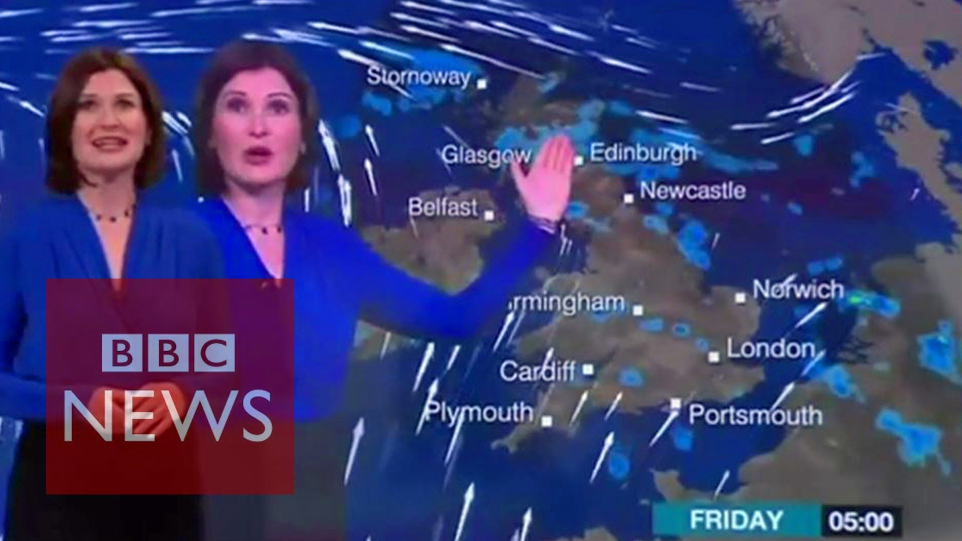 When BBC weather forecast goes wrong Bloopers & funny
