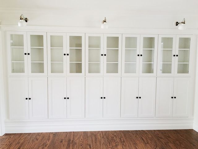 12 Ikea Hacks That Take Cabinets Out Of The Kitchen Ikea Built In Ikea Cabinets Built In Bookcase