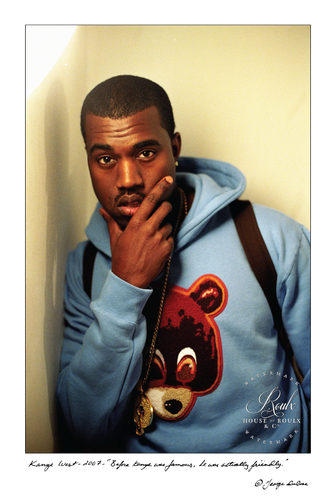 c932a65be3221 Kanye West (by George DuBose) - Limited Edition