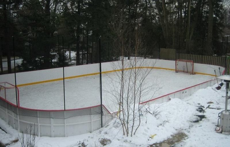 14 Homes With Private Ice Rinks (PHOTOS) | Pricey Pads · Ice RinkBackyard PatioTuinBackyards