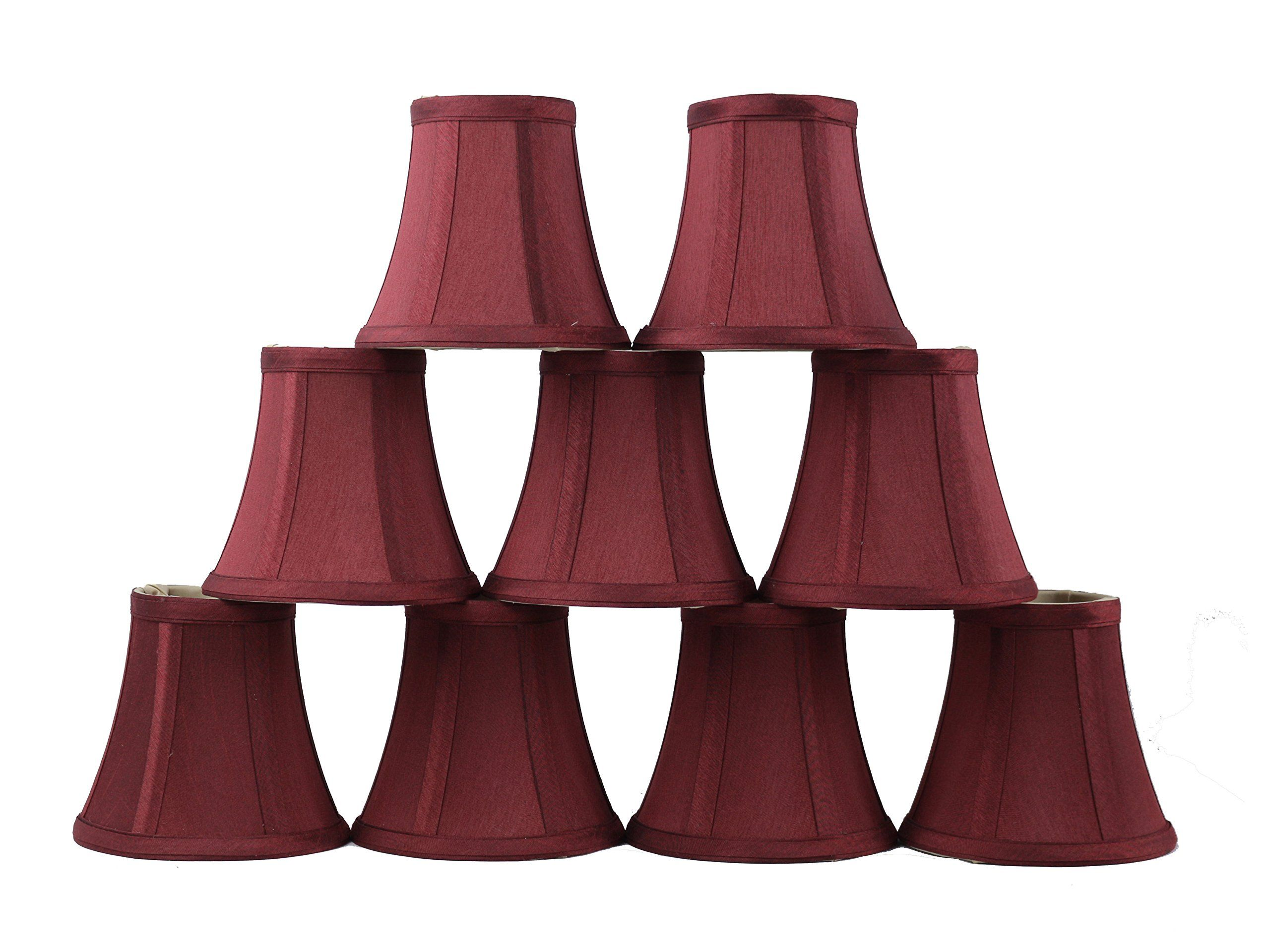 Urbanest d set of chandelier mini lamp shades inch bell