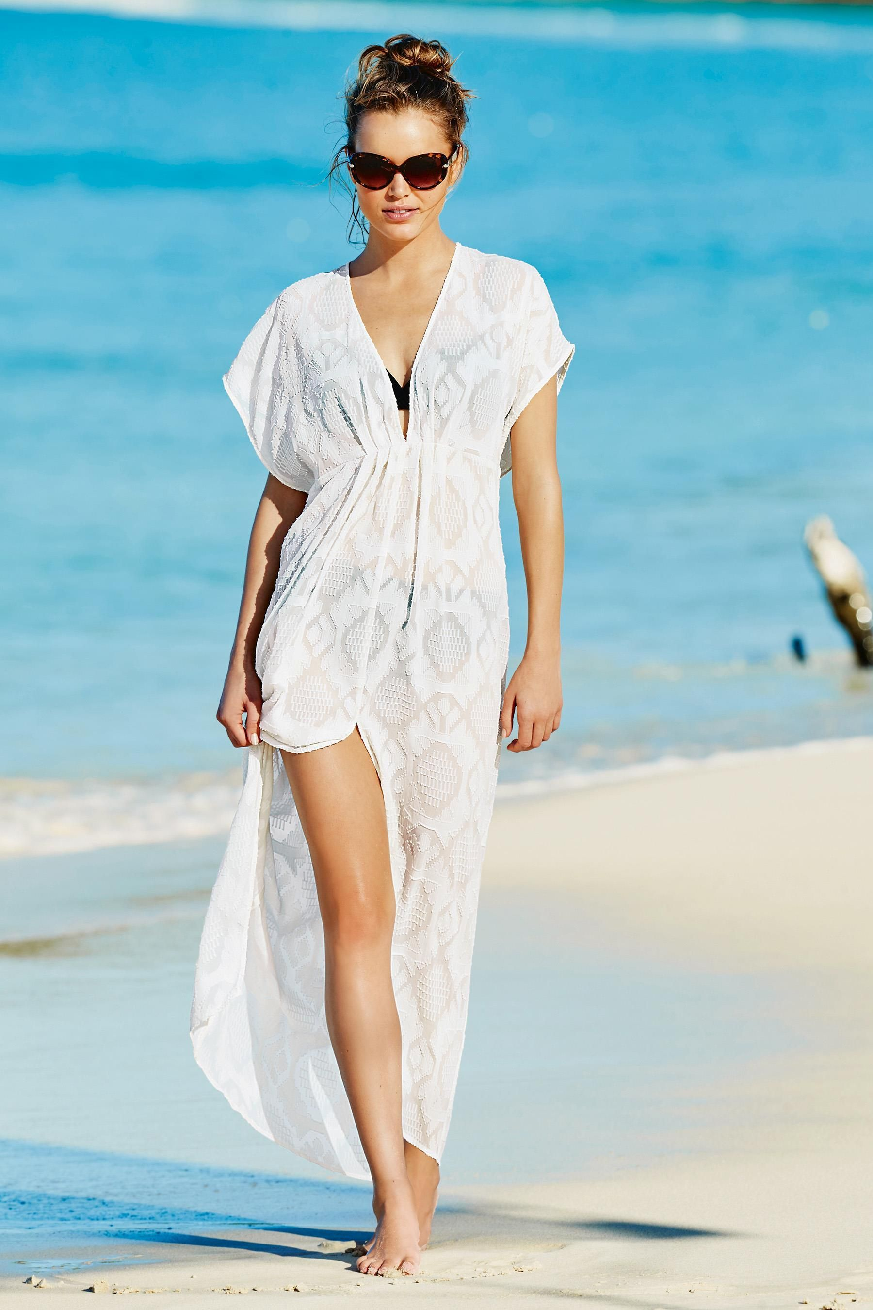 Buy White Maxi Kaftan from the Next UK online shop | Šaty ...