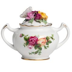 Royal Albert Old Country Roses Rose Bouquet Sugar