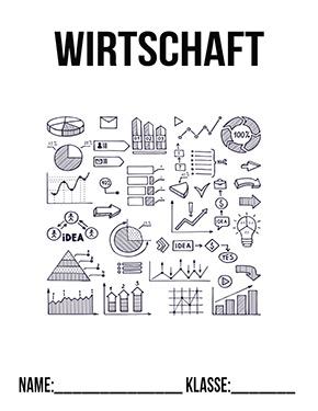 Wirtschaft Deckblatt In 2020 Deckblatt Schule Deckblatt Vorlage Deckblatt