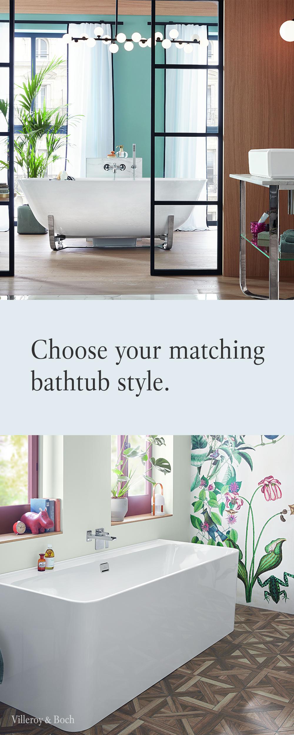 Choose The Matching Bathtub Style For Your Bathroom Einrichtungsideen Badewanne Einrichtung