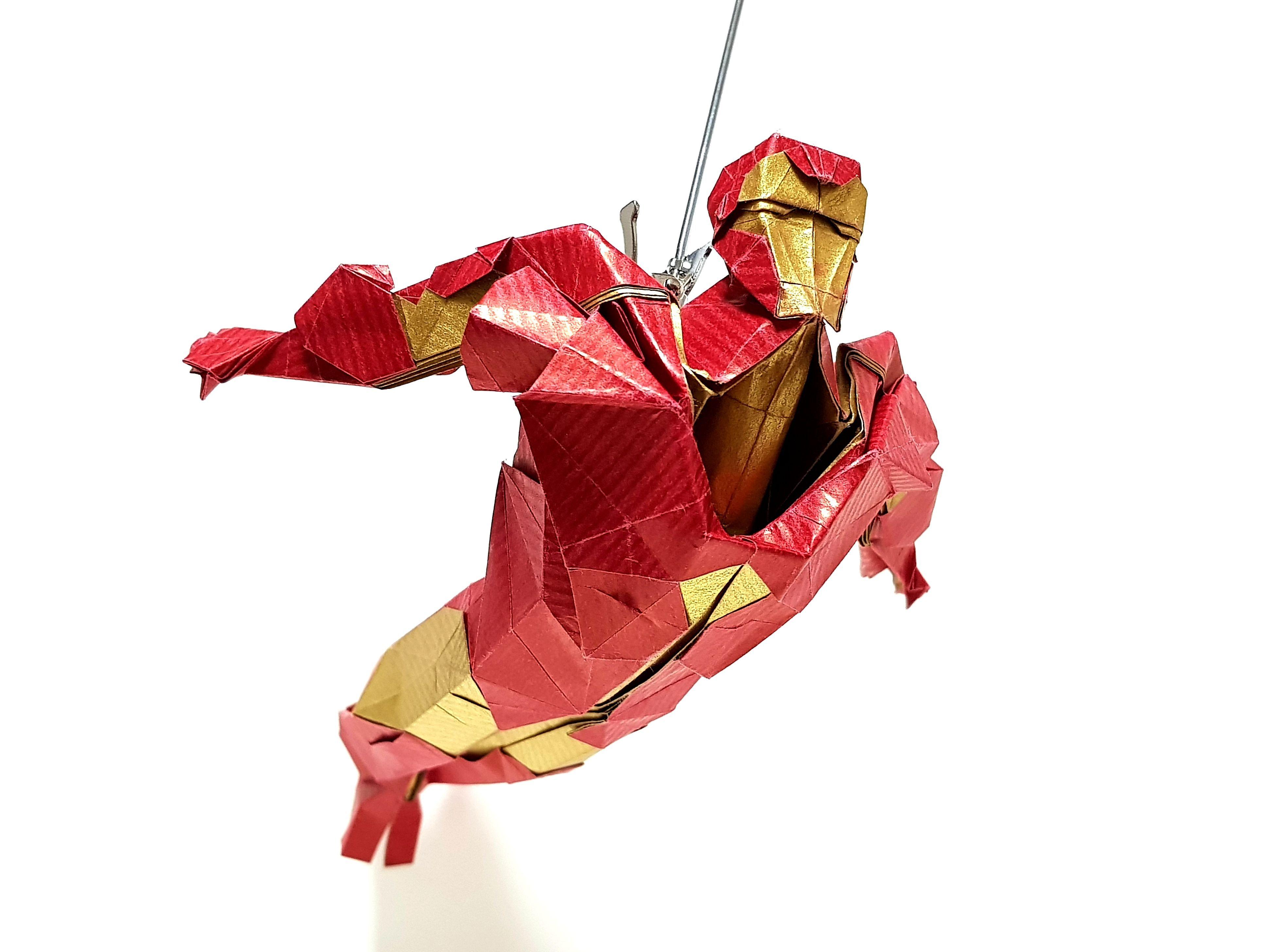 Ironman Mk3 Origami Marvel Iron Man Origami Human