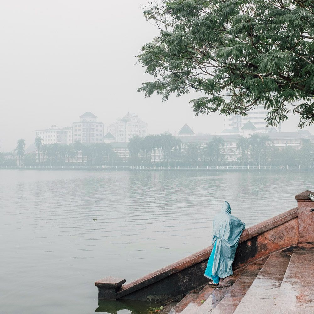 "A selection of beautiful street photos from ""Hanoi"" by Bangkok-based photographer Adam Birkan."
