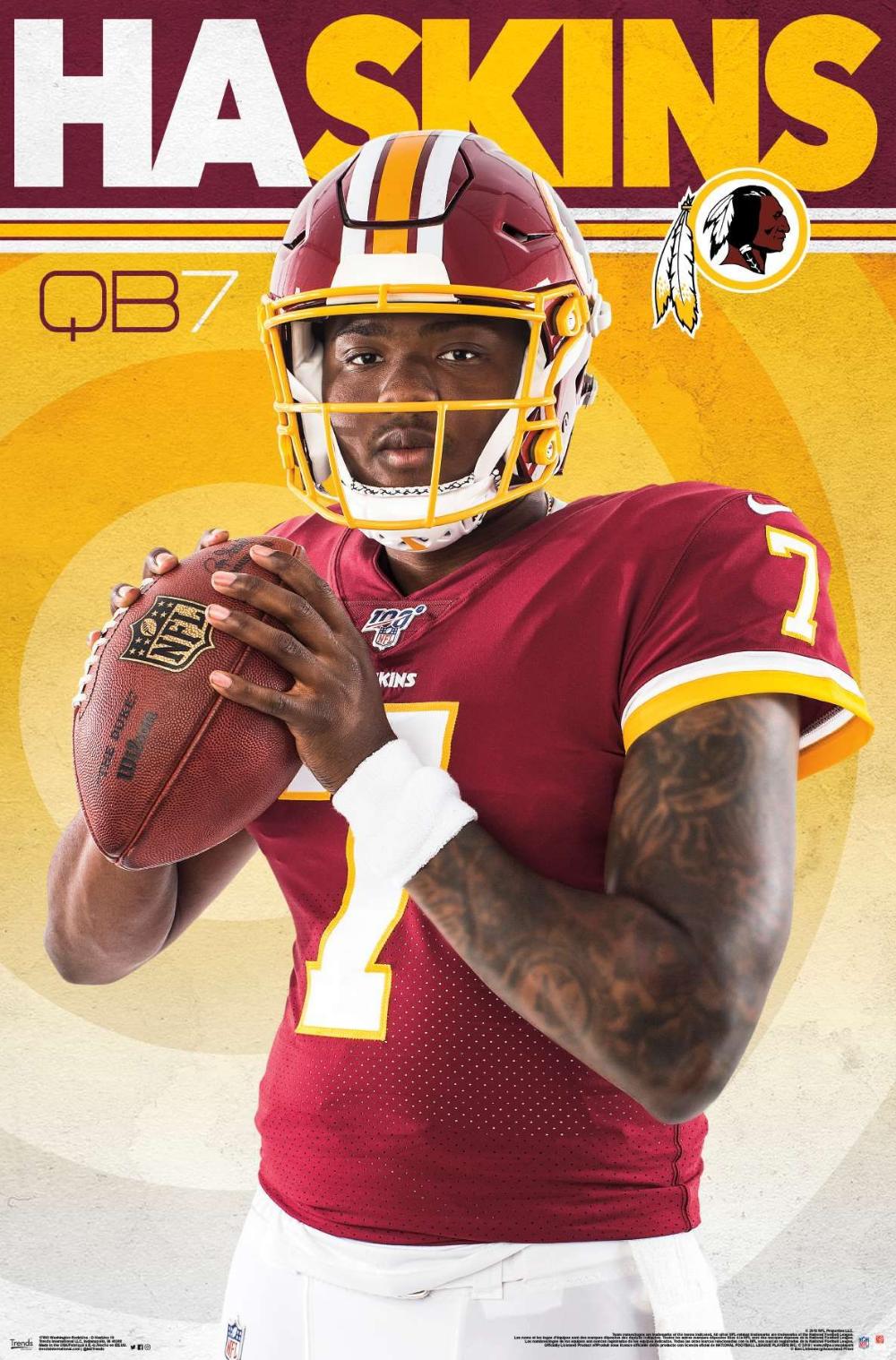 NFL Washington Redskins Dwayne Haskins Washington