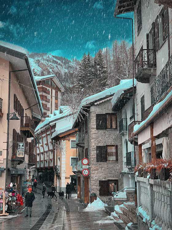 Ti Amo Courmayeur! Skiing & Playing in the Italian Alps