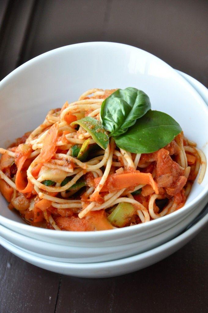 3-Color Pasta with Sun-Dried Tomato Sauce | Recipe ...