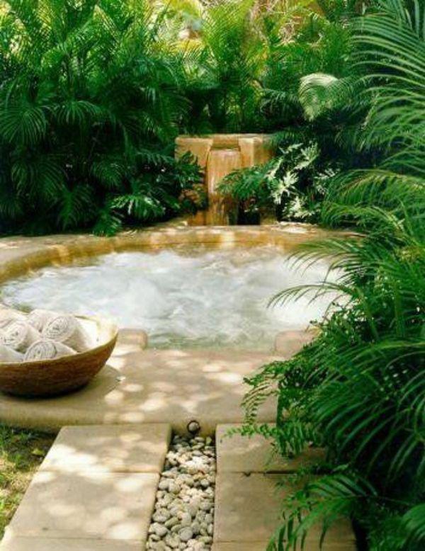 100 Gartengestaltungsideen und Gartentipps für Anfänger Jacuzzi