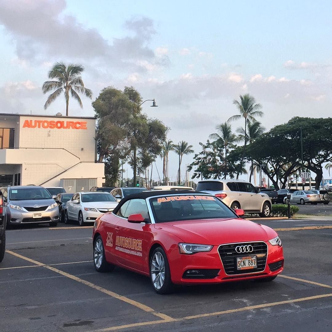 Perfect Weather For A Convertible Look Out For Us Tomorrow Morning At The 25kkailua 808race Audi Oahu Car Dealership Perfect Weather Honolulu