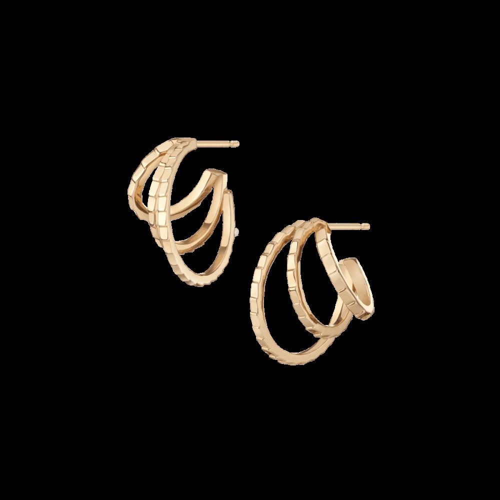 Slim Hoop Earring 2 Classic Earrings 14k Yellow Gold Hoop Earrings