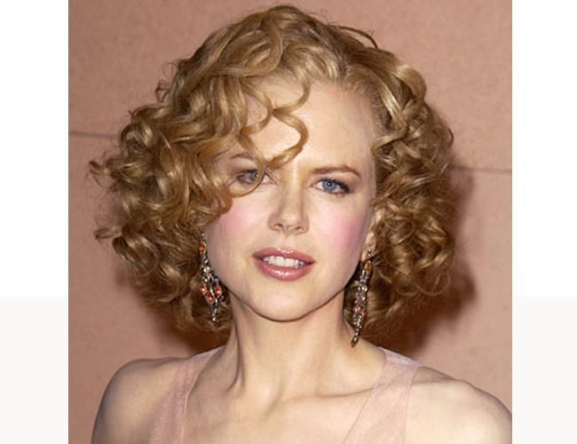 Types Of Spiral Hairstyles Perm Short Permed Hair