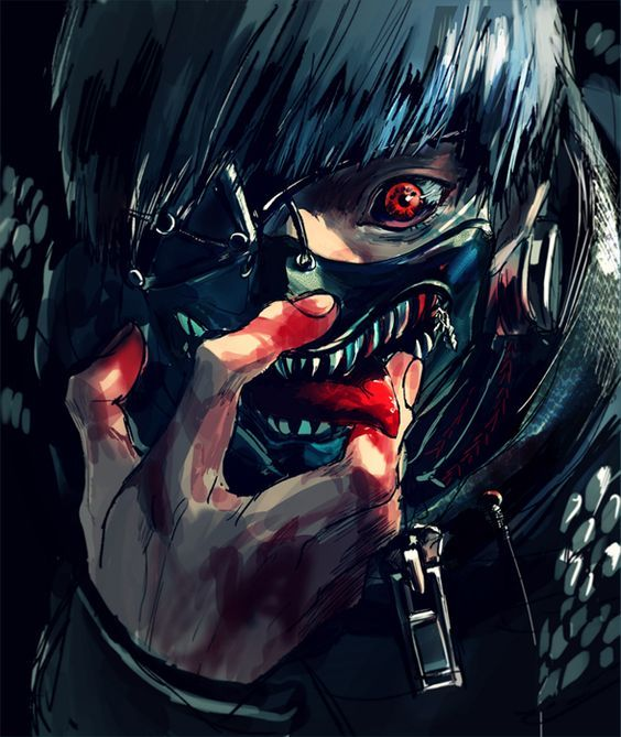 Tokyo Ghoul -Kaneki Ken ,fan Art,so Cool #tokyoghoul