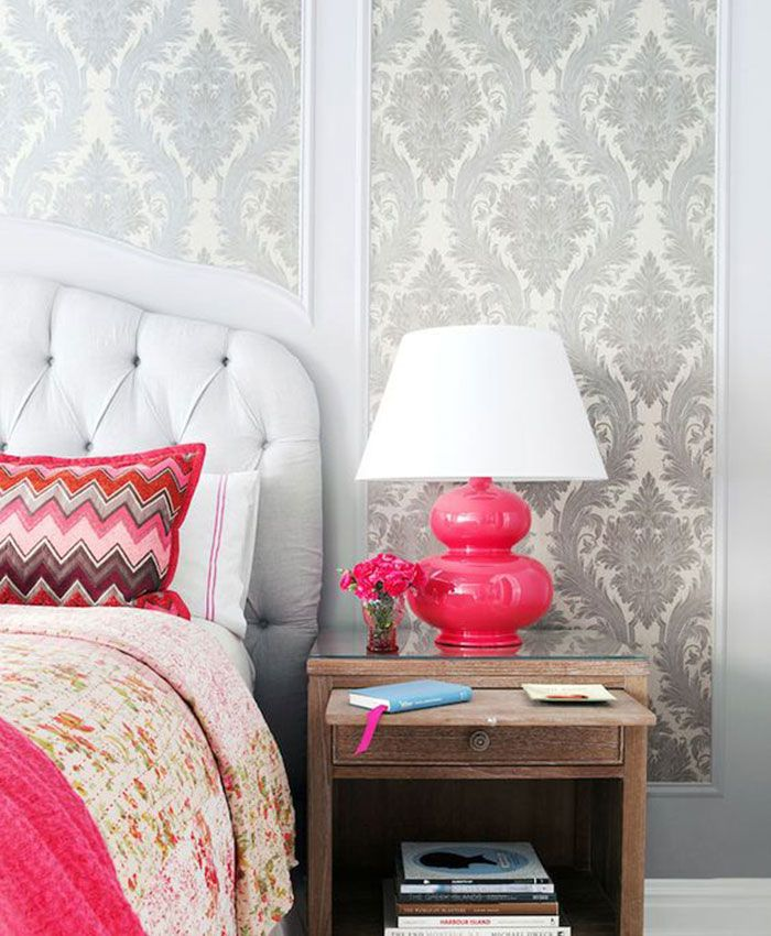 The Wallpaper Accent Wall Is The Budget-Friendly Decor