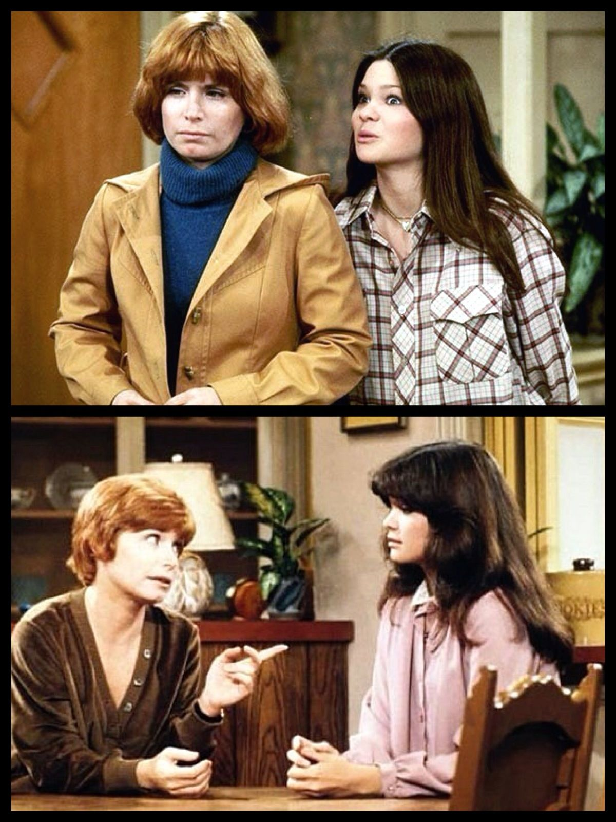 One Day At A Time 1975 1984 Starring Bonnie Franklin As Ann Romano A Divorced Mother Who Moves To Marion C Divorced Mother Valerie Bertinelli 70s Tv Shows