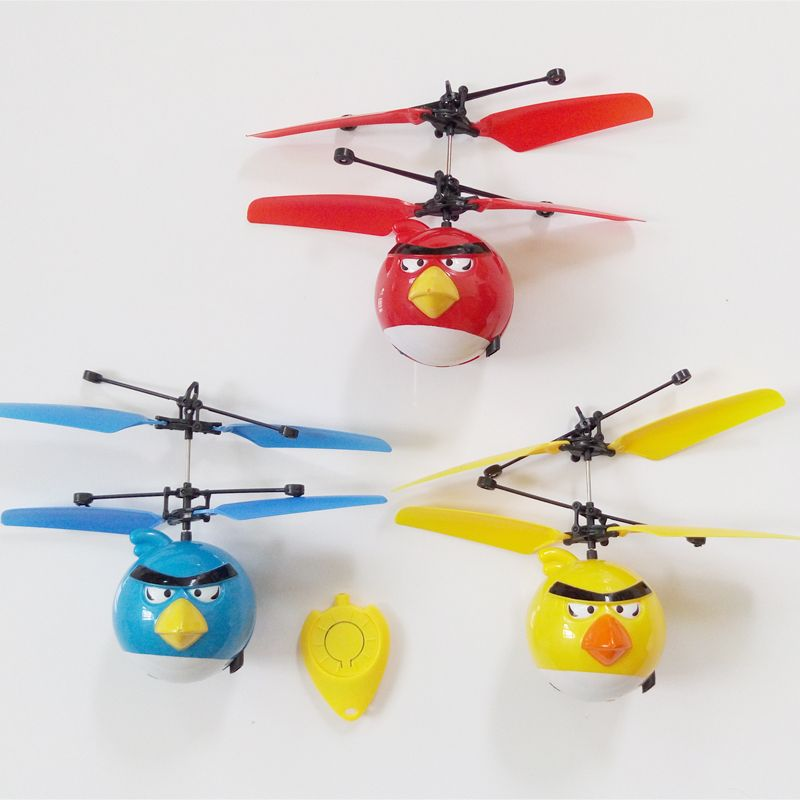 Flying Toys For Boys : Rc helicopter kids boy drone toys helicoptero flying birds