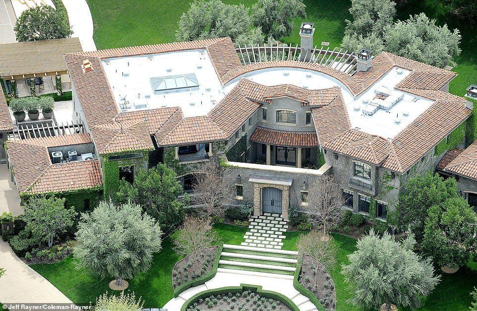 Kardashains Real Estate Aerial Photos Reveal Kim Kourtney