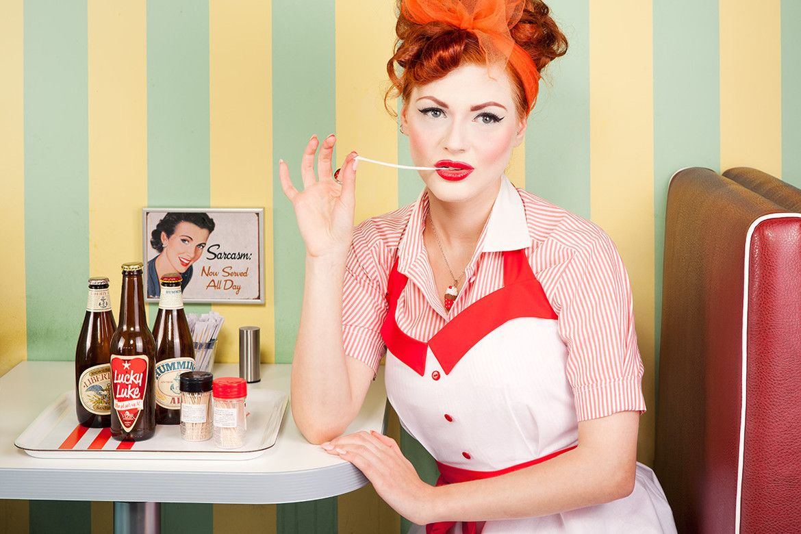 waitress retro in 2019 pinterest american diner pin up and rockabilly. Black Bedroom Furniture Sets. Home Design Ideas