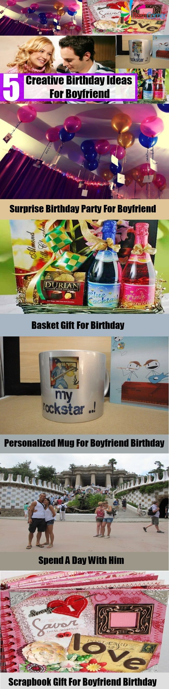 5 Creative Birthday Ideas For Boyfriend Celebration Pinterest