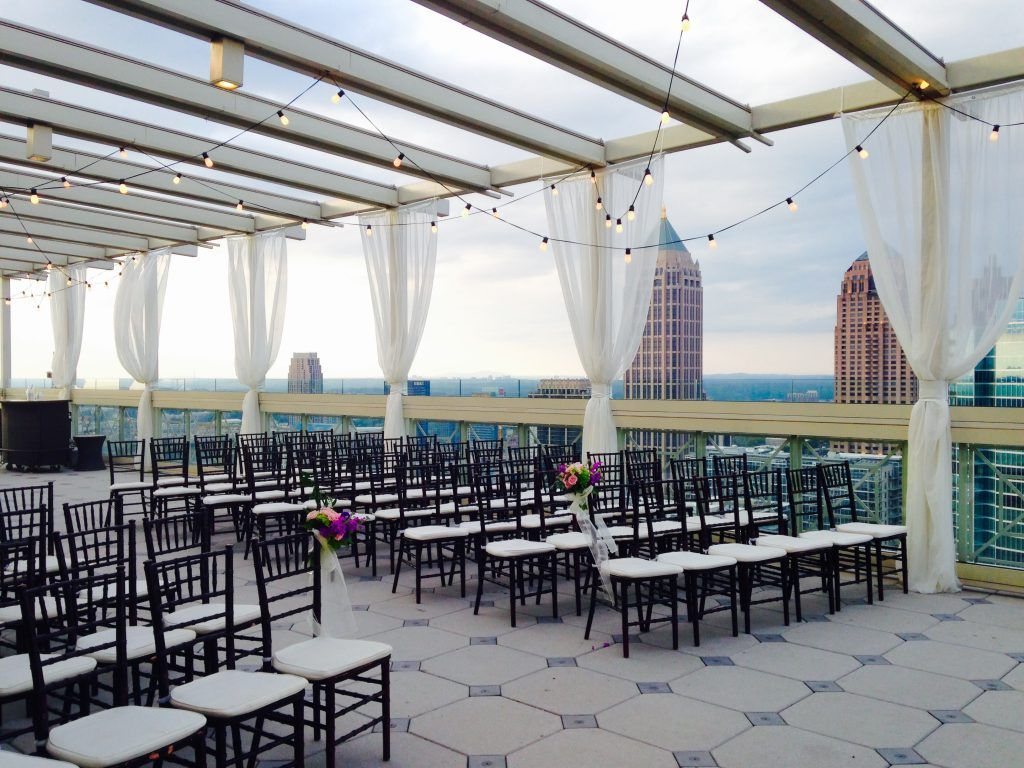 The Peachtree Club Wedding Venues In Atlanta Ga Atlanta Wedding Venues Rooftop Wedding Venue Rooftop Wedding